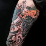 Oni and Hannya Tattoos in Bangkok
