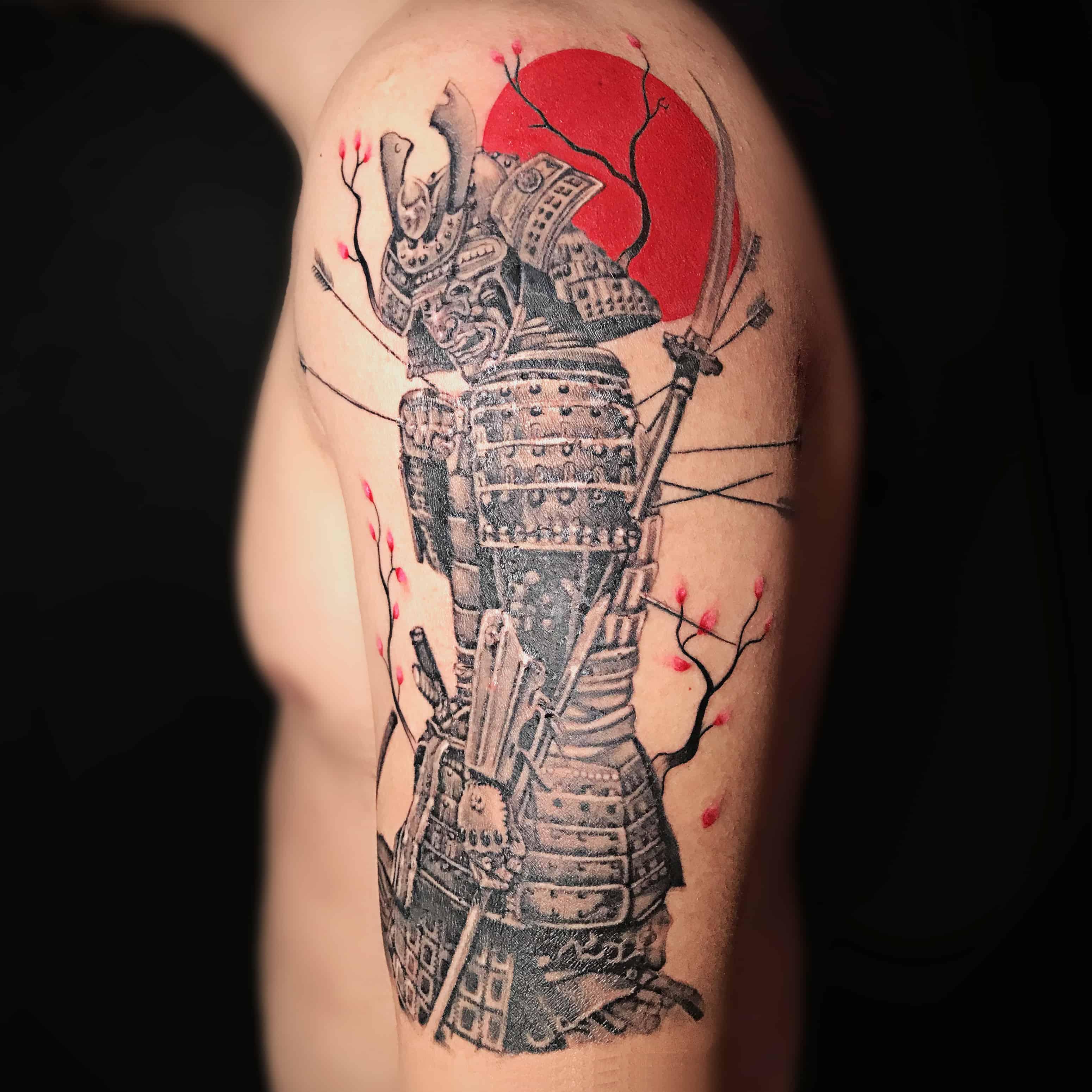 Samurai Tattoos Bangkok All Day Tattoo