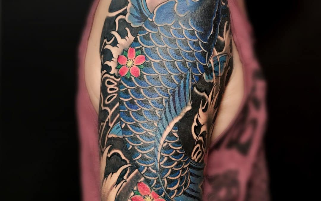 Koi Fish Tattoos in Bangkok