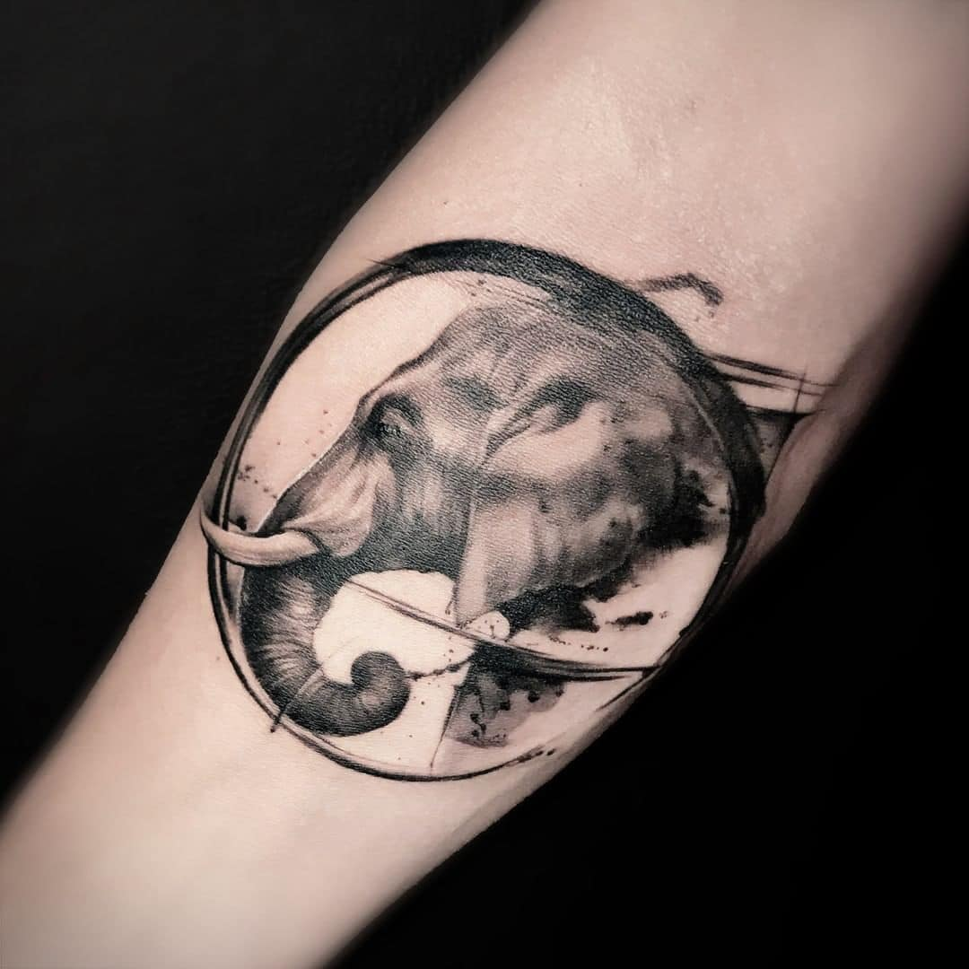 Elephant Tattoo Bangkok